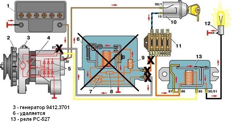 Генератор 21214 схема подключения фото 739