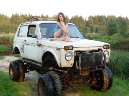 Трактор из нивы